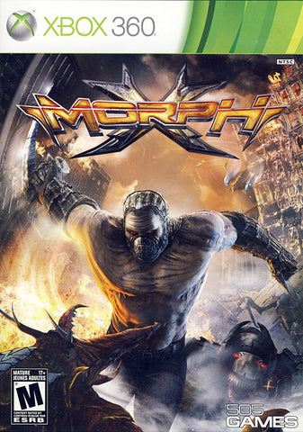MorphX (Bilingual Cover) (XBOX360) XBOX360 Game