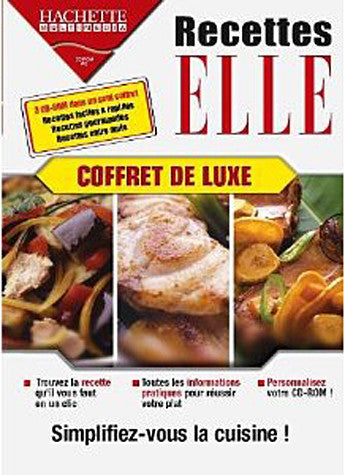 Coffret Recettes Elle (French Version Only) (PC) PC Game