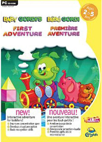 Bebe gordi premiere aventure / Baby gordi's first adventure 2-5 ans (PC) PC Game