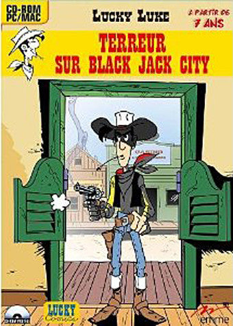 Lucky Luke - Terreur Sur Black Jack City (French Version Only) (PC) PC Game