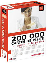 200 000 Cartes de visite + Papier (French Version Only) (PC)