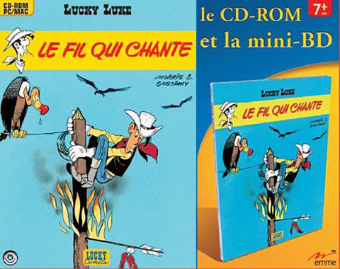 Lucky Luke - Le Fil Qui Chante + Mini BD (French Version Only) (PC / MAC) (PC) PC Game