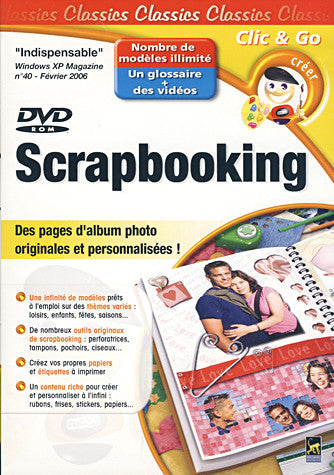 Scrapbooking (French Version Only) (PC) PC Game