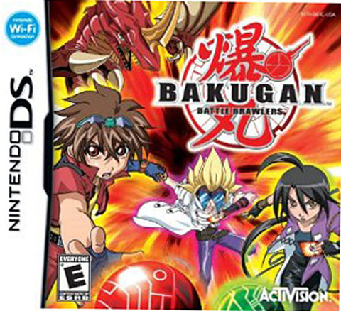 Bakugan - Battle Brawlers (Bilingual Cover) (DS) DS Game