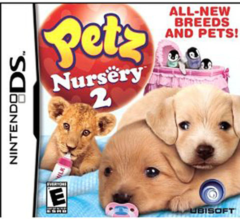 Petz Nursery 2 (Bilingual Cover) (DS) DS Game
