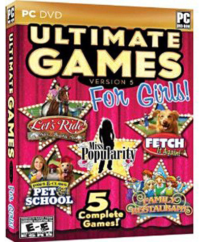 Ultimate Games for Girls 5 (5 Complete Games) (PC) PC Game