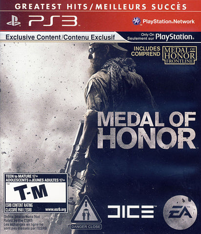 Medal of Honor (Bilingual Cover) (PLAYSTATION3) PLAYSTATION3 Game
