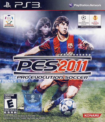 Pro Evolution Soccer 2011 (Trilingual Cover) (PLAYSTATION3) PLAYSTATION3 Game