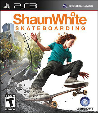 Shaun White - Skateboarding (PLAYSTATION3) PLAYSTATION3 Game