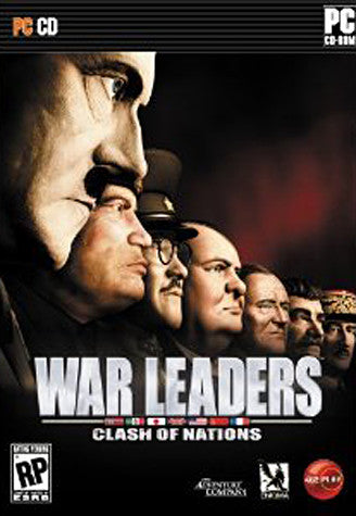 War Leaders - Clash of Nations (European) (PC) PC Game