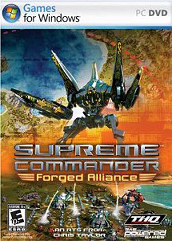 Supreme Commander - Forged Alliance (Limit 1 copy per client) (PC) PC Game