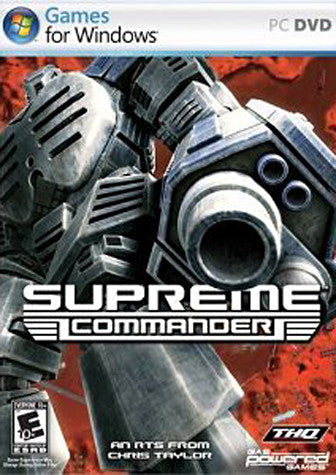 Supreme Commander (Limit 1 copy per client) (PC) PC Game