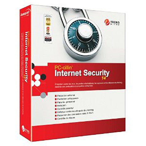 PC Cillin -Internet Security Version 14 (French Version Only) (PC) PC Game
