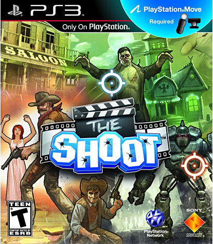 The Shoot (Playstation Move) (PLAYSTATION3) PLAYSTATION3 Game