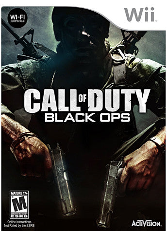 Call of Duty: Black Ops (NINTENDO WII) NINTENDO WII Game