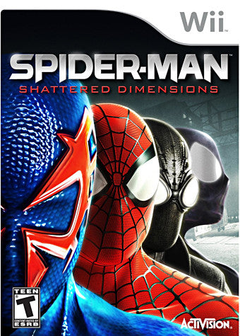 Spider-Man - Shattered Dimensions (NINTENDO WII) NINTENDO WII Game