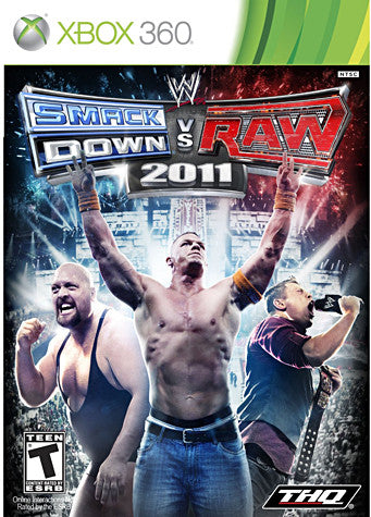 WWE Smackdown vs Raw 2011 (XBOX360) XBOX360 Game