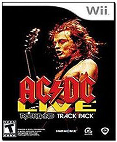 AC/DC Live - Rock Band Track Pack (NINTENDO WII) NINTENDO WII Game