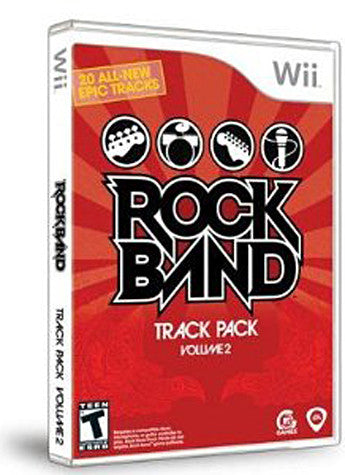 Rock Band - Track Pack Vol. 2 (NINTENDO WII) NINTENDO WII Game