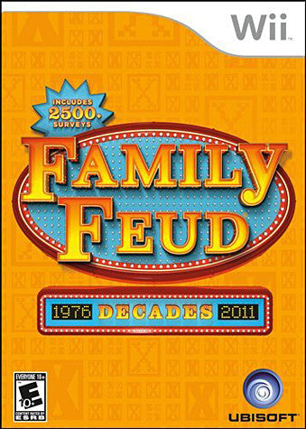 Family Feud - Decades (NINTENDO WII) NINTENDO WII Game