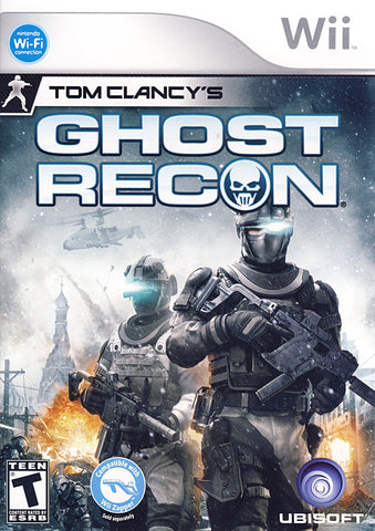 Tom Clancy's Ghost Recon (NINTENDO WII) NINTENDO WII Game