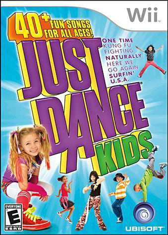 Just Dance Kids (NINTENDO WII) NINTENDO WII Game