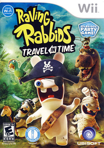 Raving Rabbids - Travel in Time (NINTENDO WII) NINTENDO WII Game