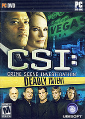 CSI - Deadly Intent (PC)