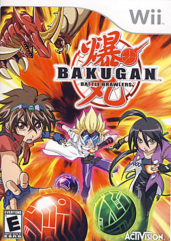 Bakugan - Battle Brawlers (NINTENDO WII) NINTENDO WII Game