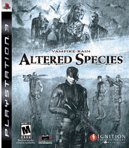 Vampire Rain - Altered Species (PLAYSTATION3) PLAYSTATION3 Game