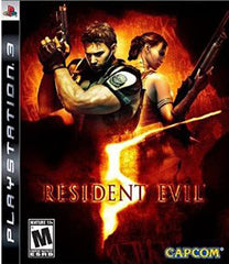 Resident Evil 5 (Bilingual Cover) (PLAYSTATION3)