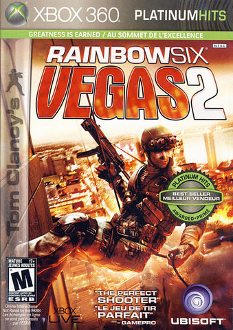 Tom Clancy s - Rainbow Six Vegas 2 (Bilingual Cover) (XBOX360) XBOX360 Game