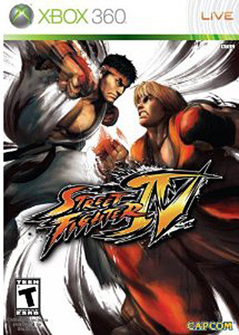 Street Fighter IV (XBOX360) XBOX360 Game
