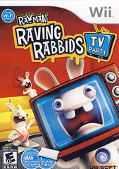 Rayman Raving Rabbids - TV Party (NINTENDO WII)