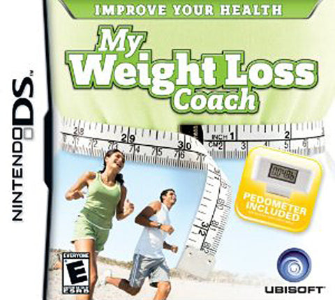 My Weight Loss Coach (Include Pedometer) (DS) DS Game