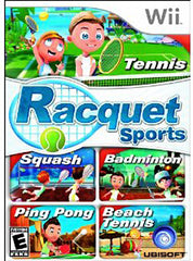 Racquet Sports (Bilingual Cover) (NINTENDO WII)
