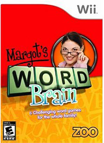 Margot's Word Brain (NINTENDO WII) NINTENDO WII Game