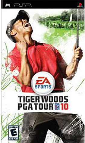 Tiger Woods PGA Tour 10 (PSP) PSP Game