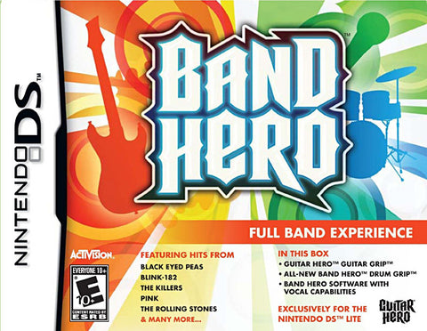 Band Hero NDS Bundle (DS) DS Game