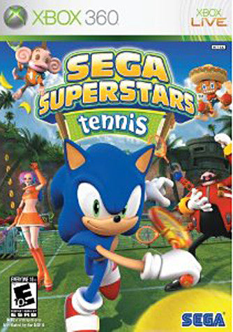 Sega Superstars Tennis (XBOX360) XBOX360 Game