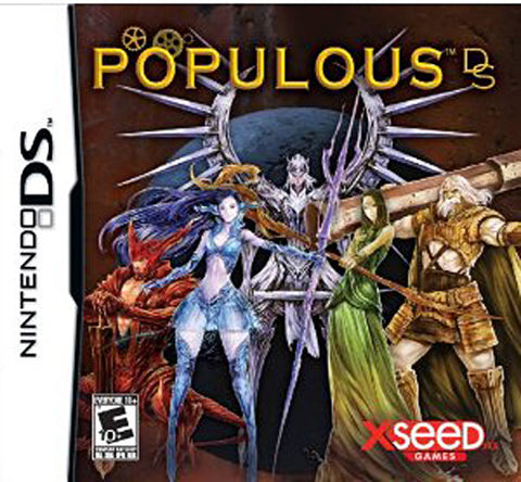 Populous (DS) DS Game