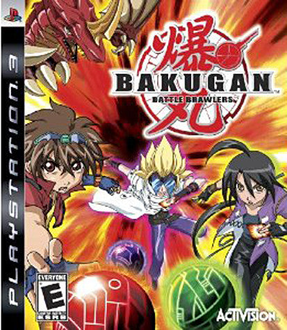 Bakugan - Battle Brawlers (PLAYSTATION3) PLAYSTATION3 Game