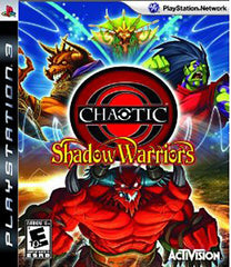 Chaotic - Shadow Warriors (PLAYSTATION3)