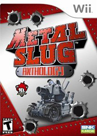 Metal Slug Anthology (NINTENDO WII) NINTENDO WII Game