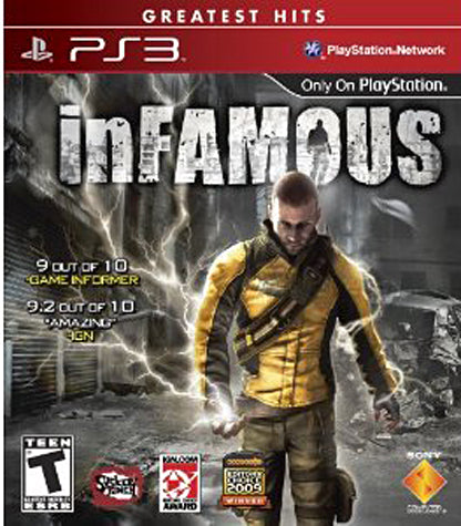 inFAMOUS (PLAYSTATION3) PLAYSTATION3 Game