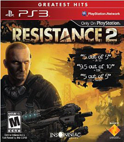 Resistance 2 (PLAYSTATION3) PLAYSTATION3 Game