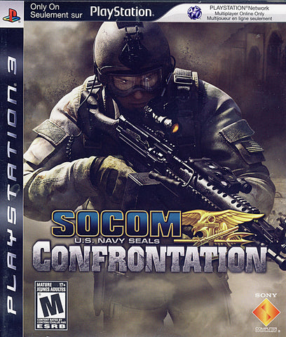 Socom U.S. Navy Seals - Confrontation (Bilingual Cover) (PLAYSTATION3) PLAYSTATION3 Game