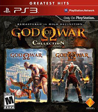 God Of War Collection (1 & 2) (PLAYSTATION3) PLAYSTATION3 Game