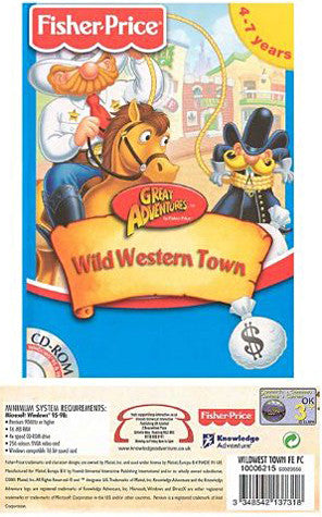 Fisher-Price - Great Adventures Wild Western Town (PC) PC Game