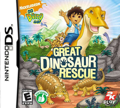Go Diego Go! - Great Dinosaur Rescue (DS) DS Game